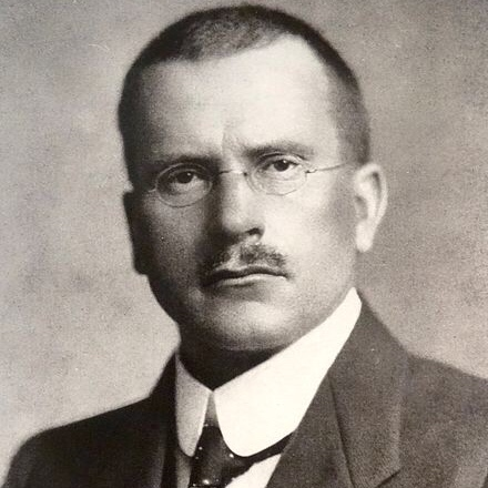 portrait of Carl Jung