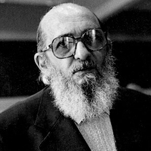 portrait of Paulo Freire